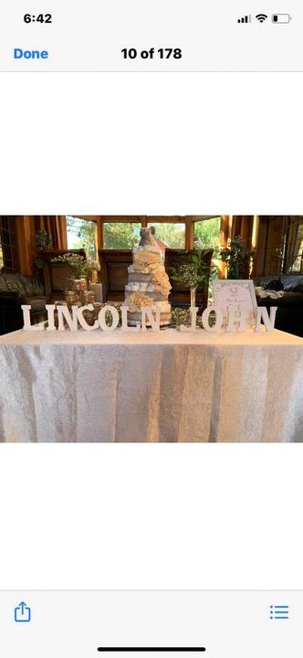 Late Post!!! such a beautiful decor for a very handsome baby boy - Lincoln John ... Proud parents are my wonderful and s...