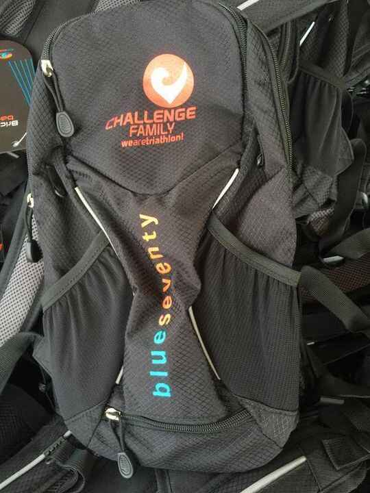 Awesome SWAG for Challenge Florida! We love these BlueSeventy Back Packs and know you will too! Still time to register a...