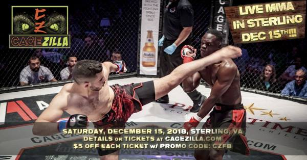 CageZilla 53 is less than 4 weeks away! - https://mailchi.mp/cagezilla.com/cagezilla-53-is-less-than-4-weeks-away