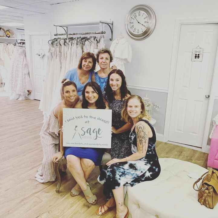 Unexpected tears of joy after finding the perfect @bylillianwest  DRESS! 🥰 yay ellena so happy for you!!#lillianwest #fi...
