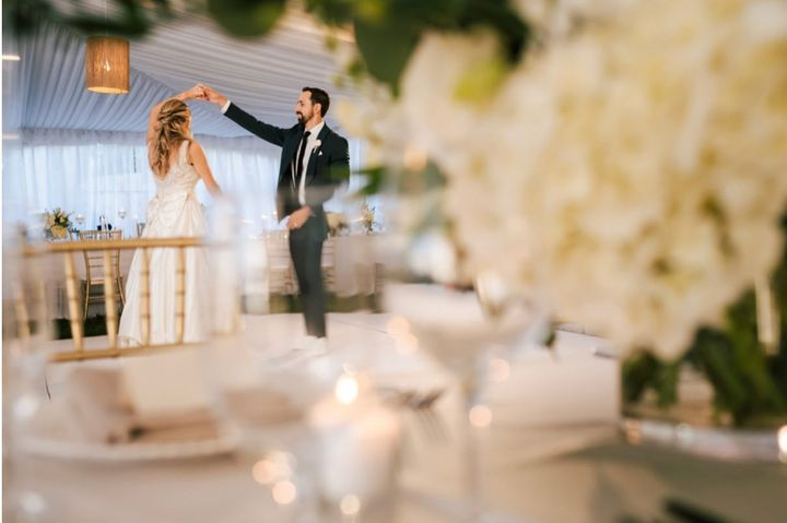 What backyard wedding dreams are made of...