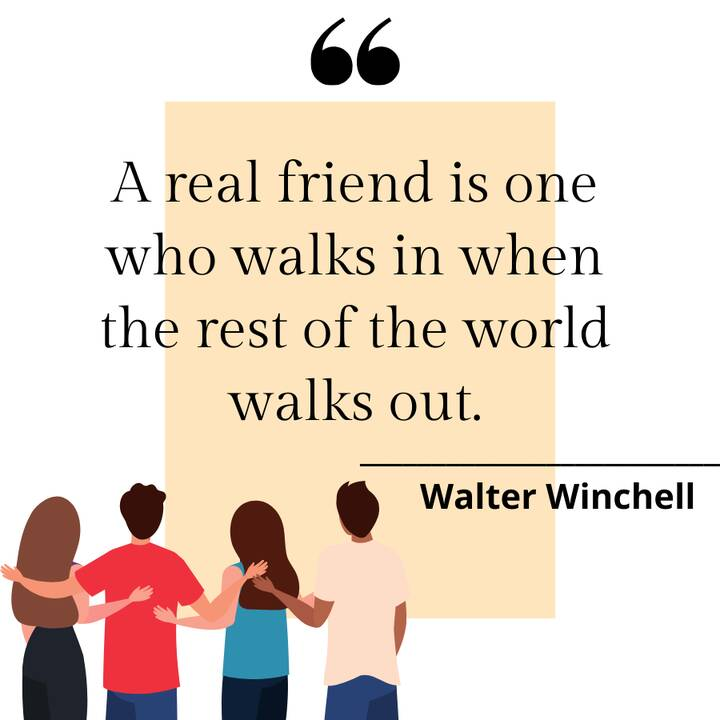 A friend is someone who understands your past, believe in your future, and accepts you today the way you are.
