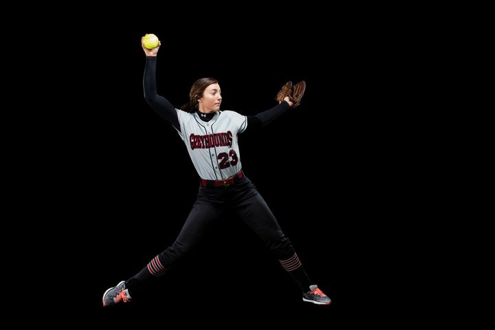 Some of the shots from the shoot with the UIndy Softball Team