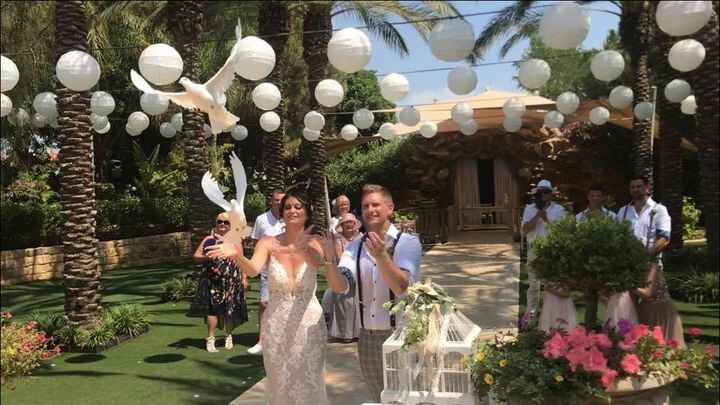 So fantastic to be doing what we love again!Congratulations Heather and Mark wishing you a lifetime of happiness